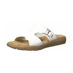Aerosoles New Wip White Fisherman Sandal US 11